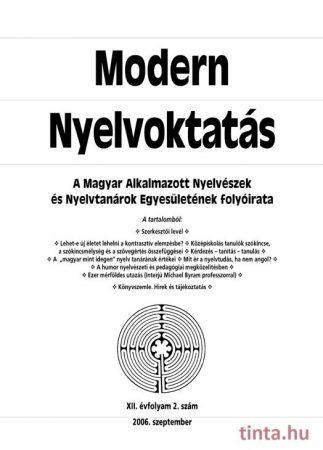 Modern Nyelvoktatás 2006. 2. szám