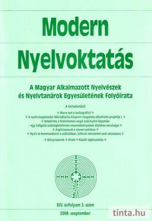 Modern Nyelvoktatás 2008. 3. szám