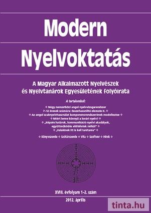 Modern Nyelvoktatás 2012. 1-2. szám