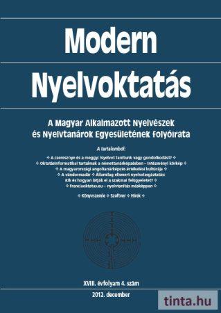 Modern Nyelvoktatás 2012. 4. szám
