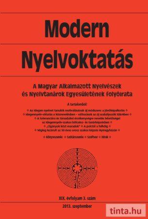 Modern Nyelvoktatás 2013. 3. szám