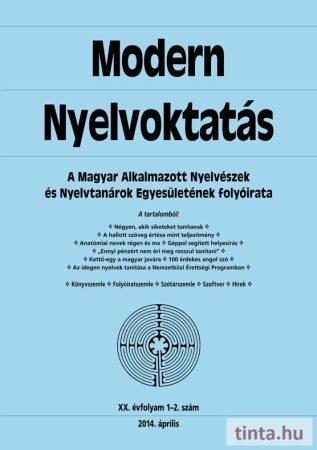 Modern Nyelvoktatás 2014. 1-2. szám