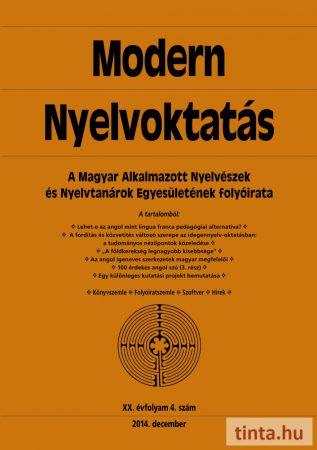 Modern Nyelvoktatás 2014. 4. szám