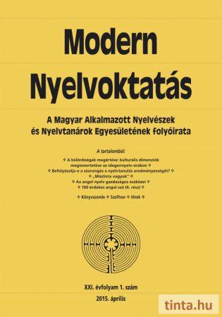 Modern Nyelvoktatás 2015. 1. szám