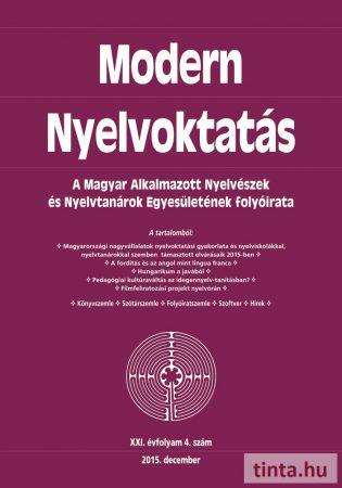 Modern Nyelvoktatás 2015. 4. szám