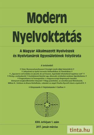 Modern Nyelvoktatás 2017. 1. szám