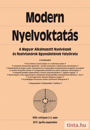Modern Nyelvoktatás 2017. 2-3. szám