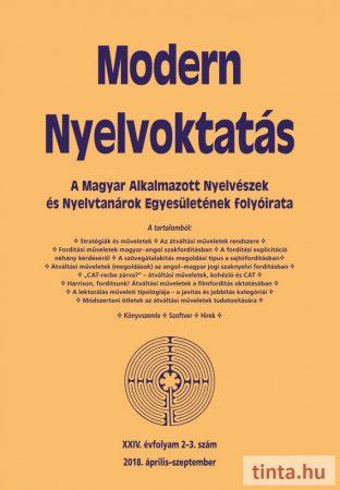 Modern Nyelvoktatás 2018. 2-3. szám