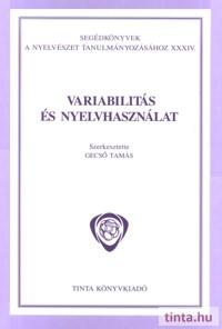Variabilitás és nyelvhasználat