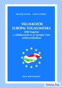 Vállalkozók európai fogalomtára