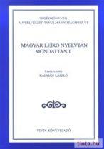 Magyar leíró nyelvtan