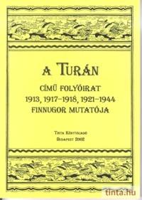 A TURÁN című folyóirat 1913, 1917-1918, 1921-1944 finnugor mutatója