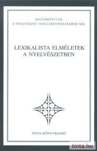 Lexikalista elméletek a nyelvészetben