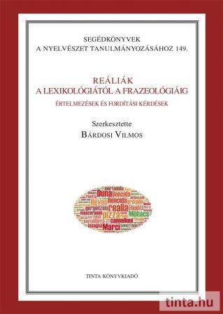 Reáliák - A lexikológiától a frazeológiáig