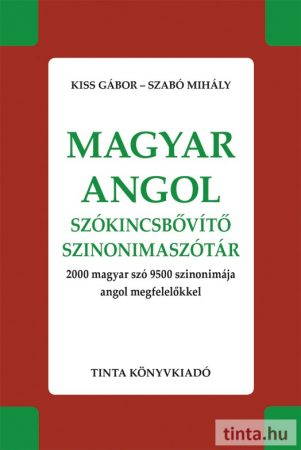 Magyar-angol szókincsbővítő szinonimaszótár
