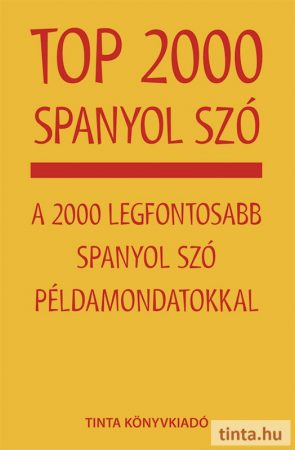Top 2000 spanyol szó