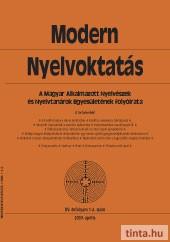 Modern Nyelvoktatás 2009. 1-2. szám