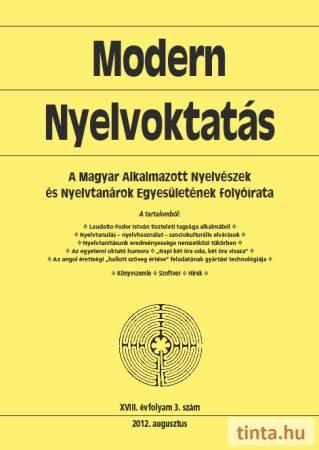 Modern Nyelvoktatás 2012. 3. szám