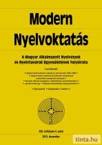 Modern Nyelvoktatás 2013. 4. szám