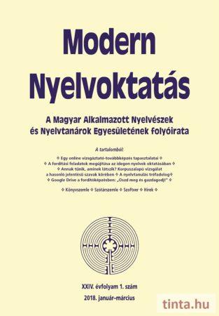 Modern Nyelvoktatás 2018.  1. szám