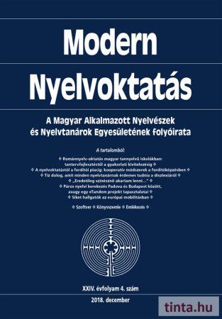 Modern Nyelvoktatás 2018.  4. szám