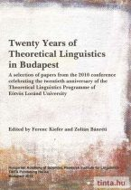 Twenty Years of Theoretical Linguistics in Budapest