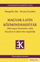 Magyar-latin közmondásszótár
