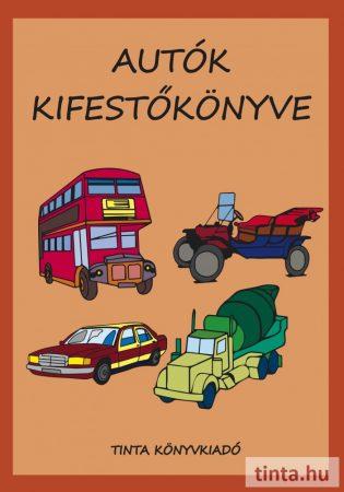 Autók kifestőkönyve