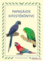 Papagájok kifestőkönyve