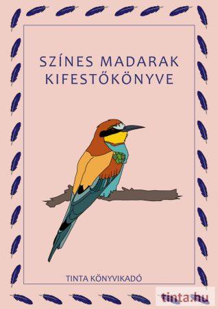 Színes madarak kifestőkönyve